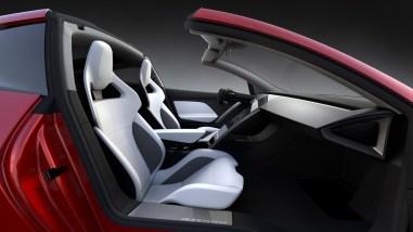 Tesla Roadster intérieur 2017