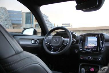 Intérieur Volvo XC40 R-Design First Edition 2018