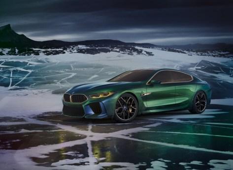 BMW M8 Concept Gran Coupé 2018