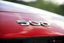 Peugeot 508 logo capot détail