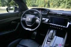 Essai Peugeot 508 intérieur EAT8