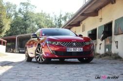 Peugeot 508 GT Line PureTech 180 EAT8 avant jantes 18 pouces essence