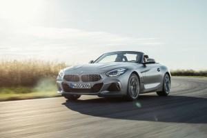 BMW Z4 roadster avant dynamique
