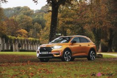 DS 7 Crossback 2018 avant orange jantes essence