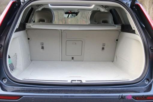 Volvo V60 coffre intérieur