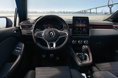 Renault Clio 5 intérieur combiné écran