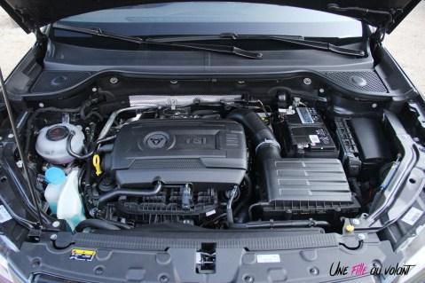 Cupra Ateca moteur 2,0 litres TSI