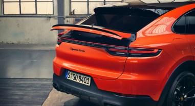 Porsche Cayenne Coupé aileron arrière feux