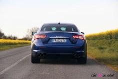 Maserati Ghibli arrière échappement feux