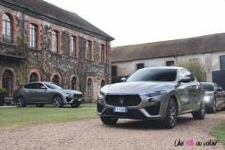 Maserati Levante 2019 avant statique feux jantes