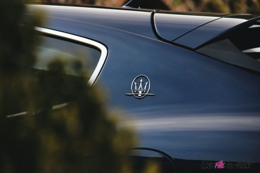 Maserati Levante 2019 détail bleu logo SUV