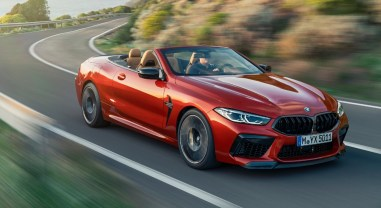BMW M8 Competition Convertible V8 essence cabriolet