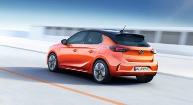 Opel Corsa-e 2019 citadine électrique autonomie arrière