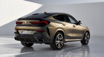 BMW X6 2019 arrière M performance échappement bouclier