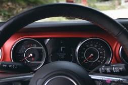 Jeep Wrangler Unlimited Rubicon 2019 combiné écran compteurs