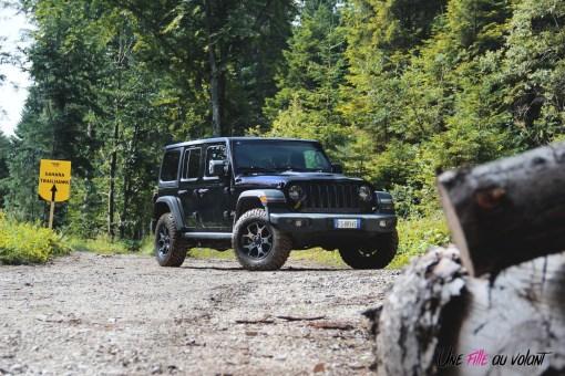 Jeep Wrangler Unlimited Rubicon 2019 tout-terrain forêt