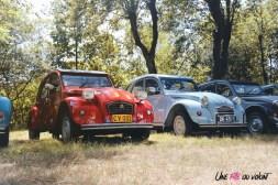 Rassemblement du Siècle Citroën 2019 2 CV ancienne rétro ferté vidame centenaire