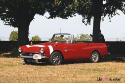 Traversée de Paris 2019 Sunbeam Alpine Meudon