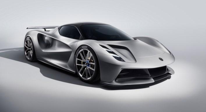 Lotus Evija 2019 sportive électrique 2000 chevaux