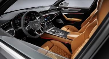 Audi RS6 Avant 2019 intérieur volant sièges écran combiné