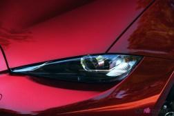 Essai Mazda MX-5 détail feux avant