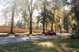 Essai Mazda MX-5 arrière été paysage