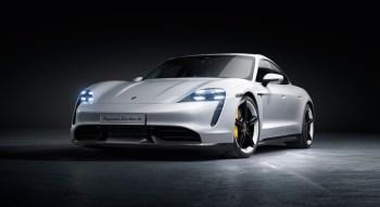 Porsche Taycan 2019 électrique nouveauté