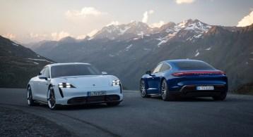 Porsche Taycan 2019 avant arrière feux