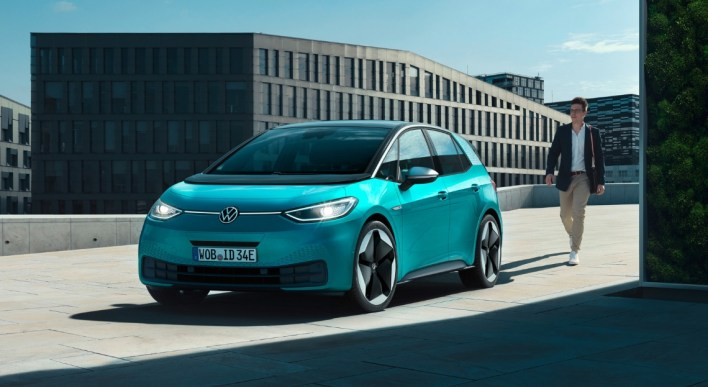 Volkswagen ID.3 2019 statique face avant jantes