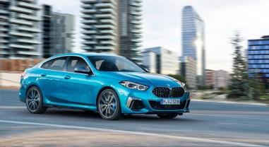BMW Série 2 Gran Coupé 2019 dynamique profil avant jantes compacte