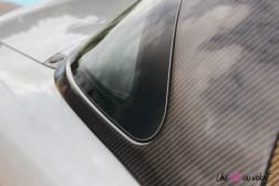 Essai Abarth 124 GT toit rigide carbone détail