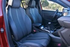 Essai Peugeot 208 2019 intérieur sièges