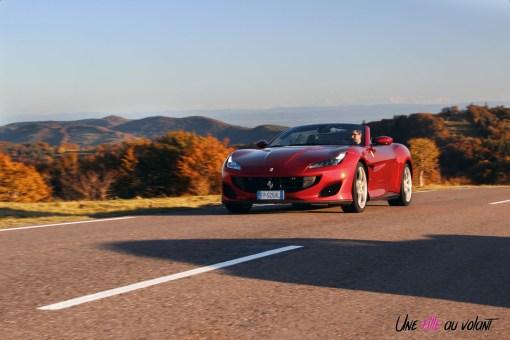 Road-Trip Ferrari Paris-Mulhouse portofino dynamique cabriolet voyage