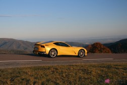 Road-Trip Ferrari Paris-Mulhouse 812 Superfast profil dynamique jantes
