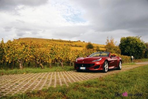 Road-Trip Ferrari Paris-Mulhouse portofino vignes voyage