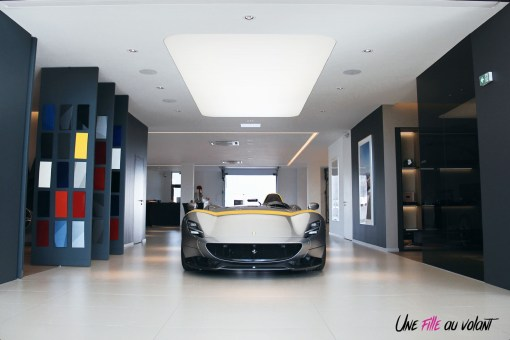 Road-Trip Ferrari Paris-Mulhouse Monza SP1 SF Grand Est
