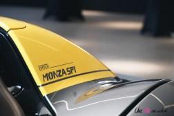 Road-Trip Ferrari Paris-Mulhouse Monza SP1 détail arrière logo