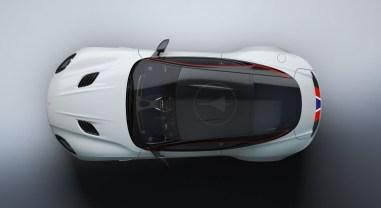 Aston Martin DBS Superleggera Concorde Special Edition 2019 toit logo