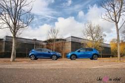 Comparatif Peugeot 208 Renault Clio 0156 profil jantes