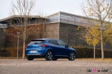 Comparatif Renault Clio 0177 arrière