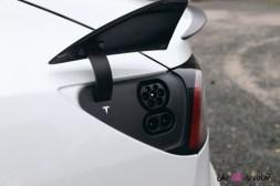 Essai Tesla Model 3 Performance 2019 prise de recharge CSS Combo