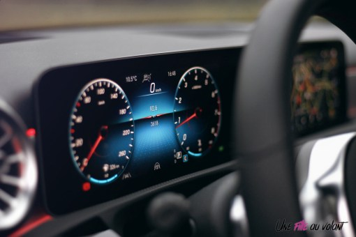 Essai Mercedes Classe A combiné numérique