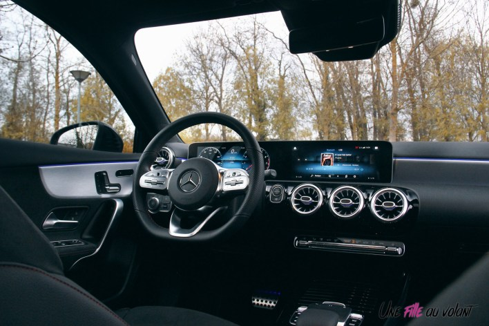 Essai Mercedes Classe A intérieur MBUX