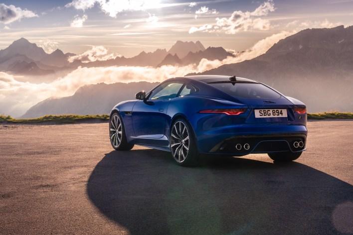 Jaguar F-Type arrière bouclier 2019