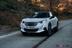 Photo essai dynamique Peugeot 2008 2 Žlectrique 2019