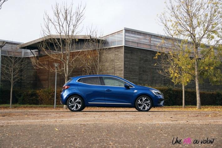 Photo essai Renault Clio 5 2019 profil jantes