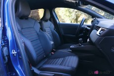Photo essai Renault Clio 5 2019 siges avant