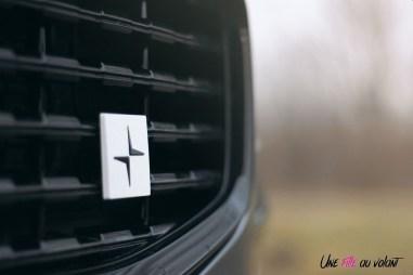 Photo Essai Volvo S60 Polestar Engineered logo calandre