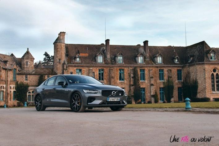 Photo Essai Volvo S60 Polestar Engineered berline sportive hybride rechargeable