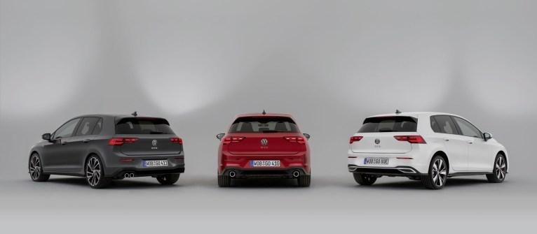 Photos Volkswagen Golf GTD, GTI et GTe 2020 arriere
